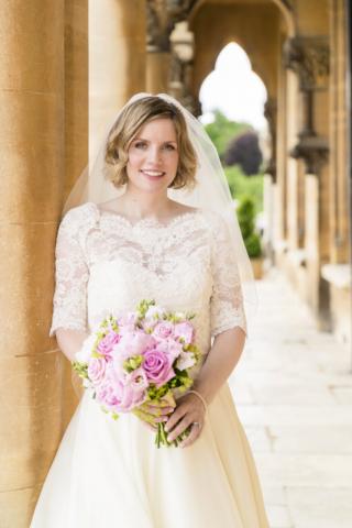 Beautiful bride at Walton Hall