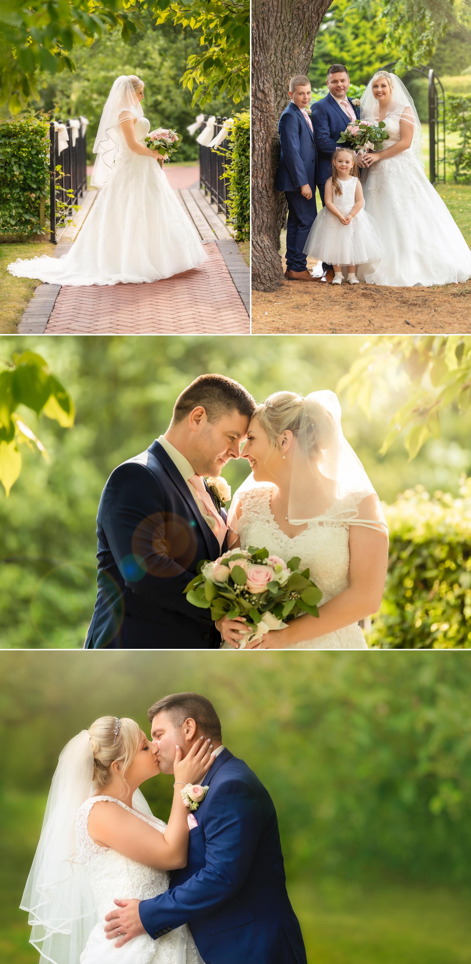 Beutiful bride and groom wedding images