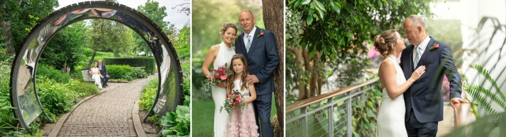 Sally and Phils Glasshouse Wedding in Leamington Spa