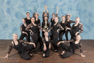 Three Spires Dance School – Reflections – Posed Group Images